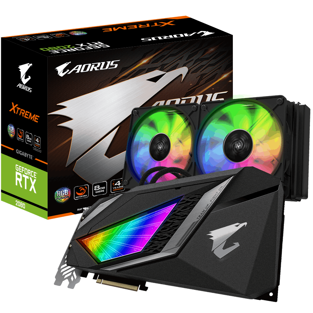 AORUS GeForce RTX™ 2080 XTREME WATERFORCE 8G