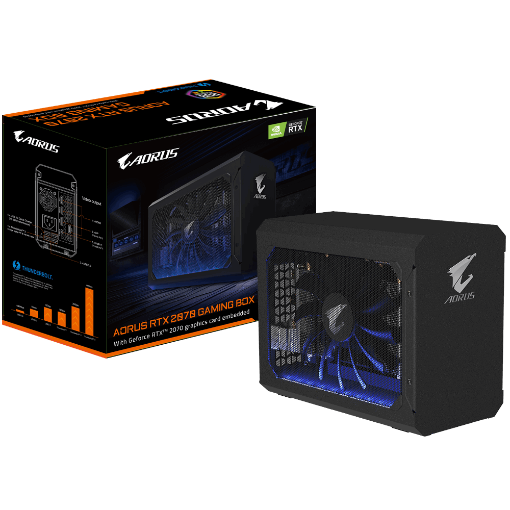 AORUS RTX 2070 GAMING BOX