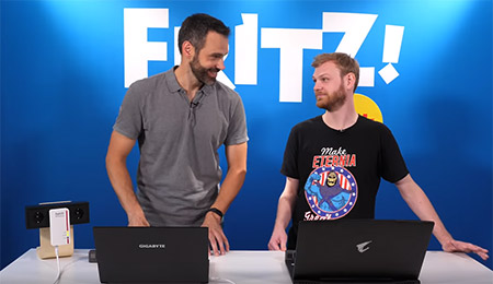 Fritz! talk Internet connections