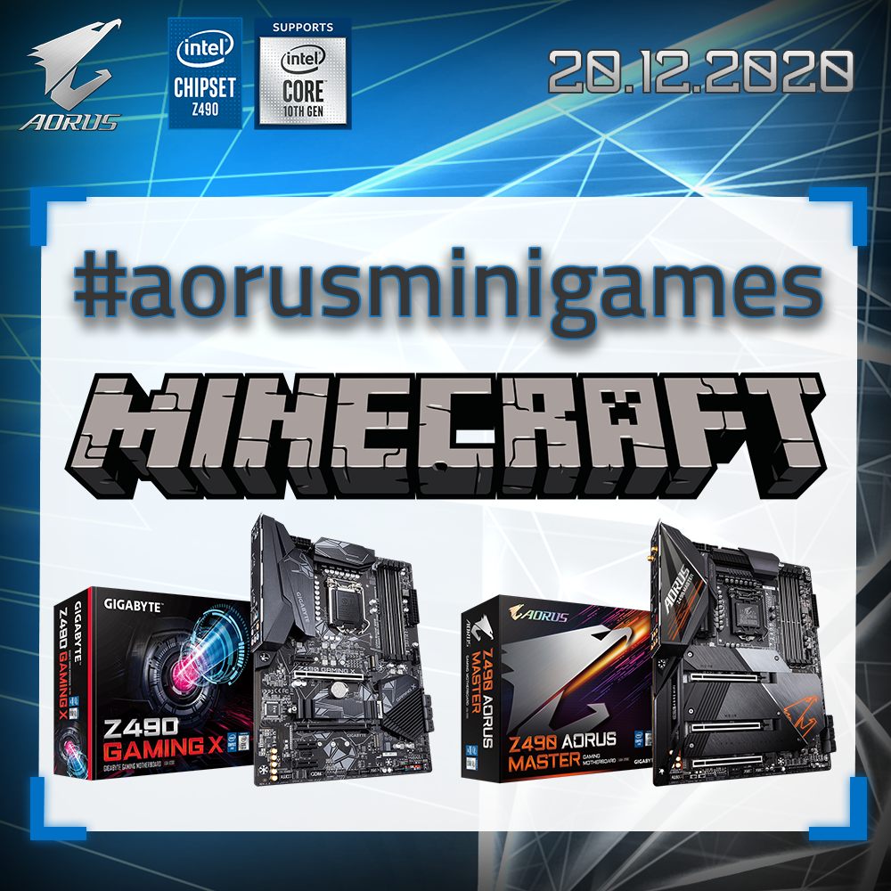 AORUS minigames 2 powered by Intel
